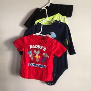 Bundle: 6-9 month tops